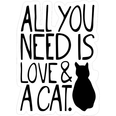 Все, что вам нужно, это любовь и кот