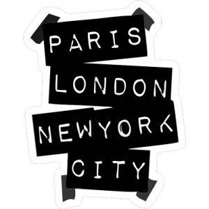 париж лондон ньюйорк