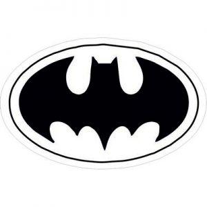 Бэтмен логотип черный