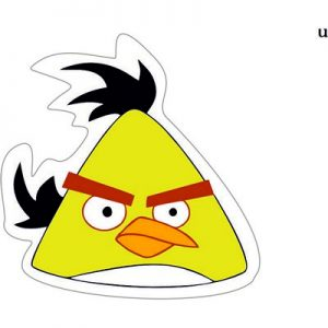 желтая злая птица