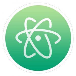 логит атома зеленый