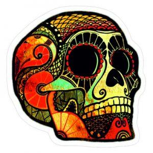 Гранж череп