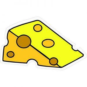 кусочек жирного сыра