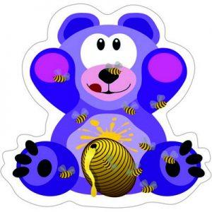 мишка с медом