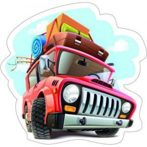 смешной автомобиль-путешествие 2
