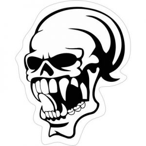 опасный череп