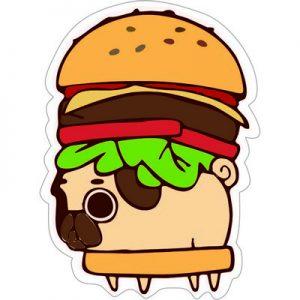 гамбургер для собак