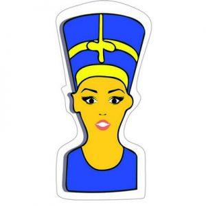 емоджи Нефертити