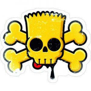 Симпсон череп