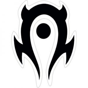 Мир воркрафта логотип орда