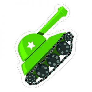 зеленый танк
