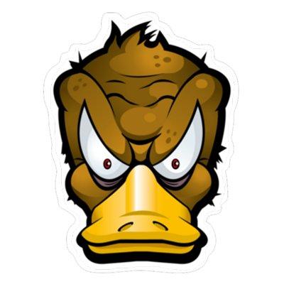 Злой утка