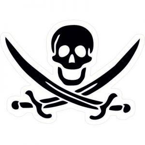 логотип череп