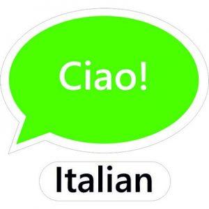 говорю по-итальянски