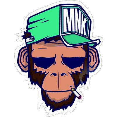 обезьяна байкер