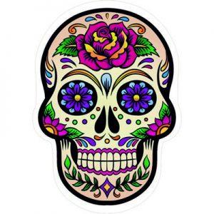 мертвый мексиканец череп