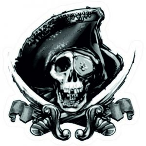 Пиратский череп