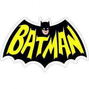 Бэтмен Логотип Ретро