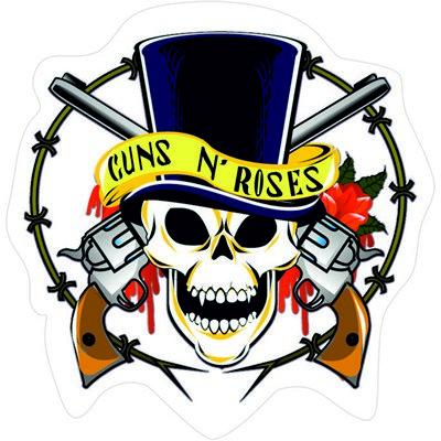 логотип рок группы ганзез роуз