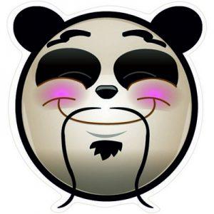 Счастливая Панда эмоция