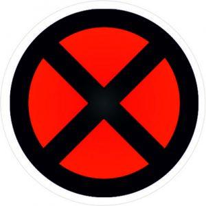 человек икс логотип