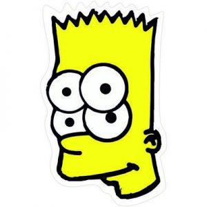 Барт Симпсон в шоке