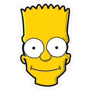 Барт Симпсон портрет