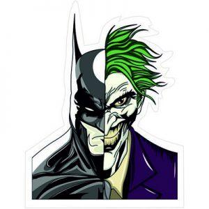 Бэтмен и Джокер два в одном