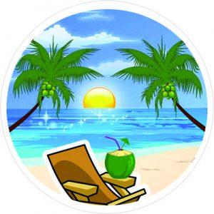 Логотип кокос путишствие