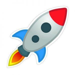 турне на ракете эмоджи