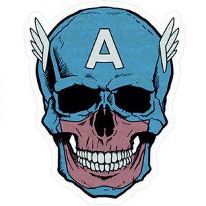 марвел Капитан Америка Череп