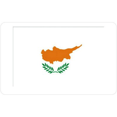 флаг кипра на белом