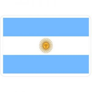 Флаг Аргентины бело-голубой