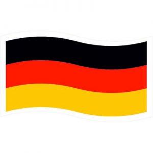 флаг германии волнами