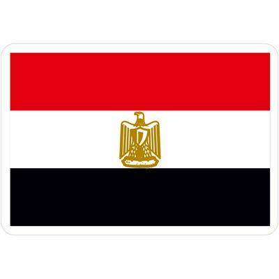 флаг египта красный белый черный орел