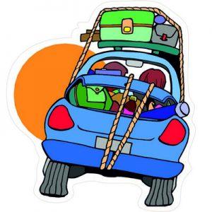 Семейное автомобильное путешествие