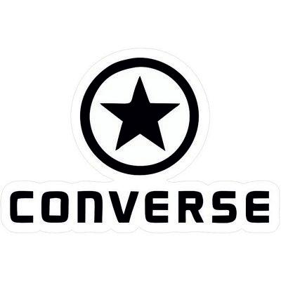 конверсы черно-белый логотип