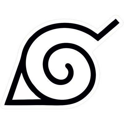 Коноха логотип мультсериала