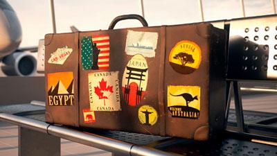 стикеры для путешественника