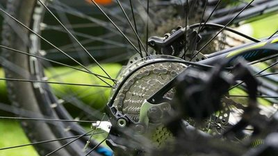 Наклейка на велосипед